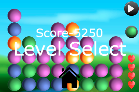 Screenshot BubbleBlaster Free